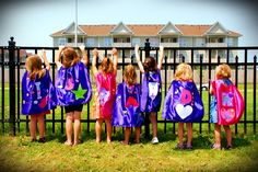 Super Girl Party where girls make their own capes.
