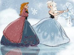 ~ Snow sisters ~