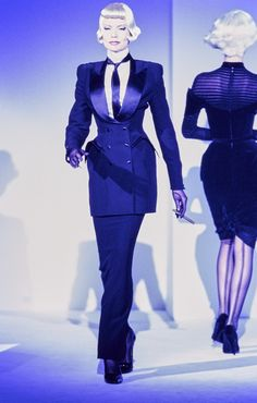 Mugler Fall 1995 Couture Collection Photos - Vogue