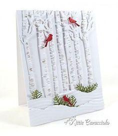 CAS Scène d'hiver par kittie747 - Cartes et artisanat de papier à Splitcoaststampers