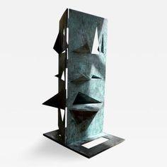 Toni Fabris - A Bronze Sculpture titled 'Comparison' by Toni Fabris circa 1972 offered by Talisman London on InCollect Brutalist Design, Bronze Sculpture, Decorative Objects, Art Decor, Home Decor, Decoration Home, Room Decor, Home Interior Design, Home Decoration