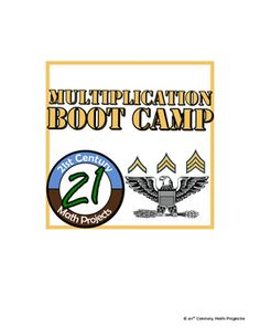 Multiplication Boot Camp -- Differentiated Multiplication