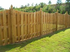 Maple Wood Fence Design For Backyard Come With Concave Shadow Box ...