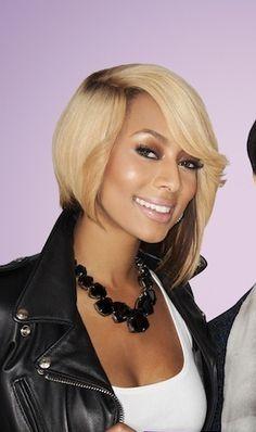 LOVE Keri Hilson makeup looks and angled bob.....