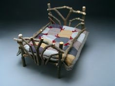 Twig Doll Bed