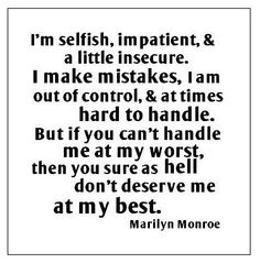 Go Marilyn!!