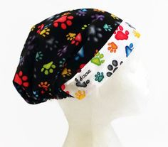 Womens Scrub Cap Scrub Hat for Women Surgical by CroweScrubCaps