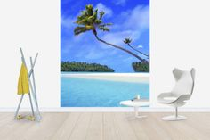 Stunning Lagoon - Wall Mural & Photo Wallpaper - Photowall