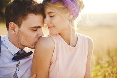 Закатное солнце: love-story Лизы и Леши - WeddyWood