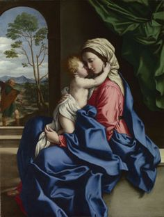 Sassoferrato: 'The Virgin and Child Embracing'