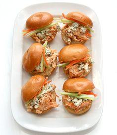 Buffalo Chicken Sliders Recipe - Super Bowl Party Recipes