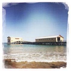 #queenscliff #queenscliffpier #bellarinepeninsula #geelong #beach #pier  #hipstamatic #summertime by lemaz http://ift.tt/1JO3Y6G