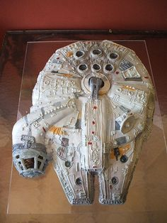star wars cakes - this is the one! Lol!