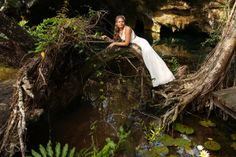 Riviera Maya Trash The Dress Cenote and Beach – Michelle and Christopher - Del Sol Photography Urban Setting, Riviera Maya, How To Be Outgoing, Newlyweds, Photographers, Destination Wedding, Mexico, Bride, Beach