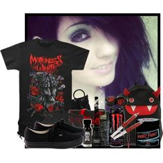"""""""Some people come back to haunt you, no matter how deep you bury them"""" by nyxrosser on Polyvore"""