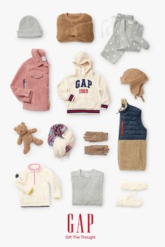 Warm and fuzzy PJs, merry and bright accessories, and all the supersoft extras. Because the best gifts are right here. Cute Toddler Girl Clothes, Boys Winter Clothes, Toddler Girl Outfits, Toddler Fashion, Kids Fashion, Cute Thanksgiving Outfits, Gents Fashion, Cute Toddlers, Little Girl Fashion
