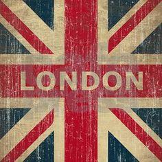 Vintage London Shower Curtain by teyes - CafePress Vintage Shower Curtains, Custom Shower Curtains, Fabric Shower Curtains, Vintage London, Vintage Travel Trailers, Vintage Travel Posters, Union Jack Decor, New London, London Flag