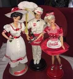3-Mattel-Barbies-COKE-Ken-WAITER-ULTRA-RARE-Plus-Summer-Dreams-Waitress-76