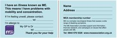 ME ALERT CARDS FROM