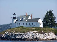 Pumpkin Island Light-- would like to do the cruise (on the connecting page) to remote Maine lighthouses