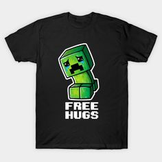 522ff475 Shop Sad creeper minecraft t-shirts designed by NemiMakeit as well as other  minecraft merchandise at TeePublic.