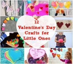 12 Awesome Valentine's Day Projects for Toddlers & Preschoolers!