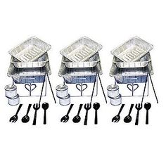 Disposable Catering Serving Kit - 33 pc.