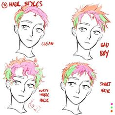 lunar-resonance: rainbowthinkerart: HELLO! I'm not too sure on how to make a hair tutorial since i kinda just go the hell out with it (its really inconsistent i