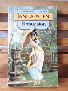 Vintage paperback book Persuasion Jane Austen fiction book historical satire romance novel of manners Anne Elliot English Literature classic by TrooperslaneBooks on Etsy