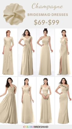 Aug 2019 - Navy Blue and Champagne Winter Wedding Color Inspiration: White bride gown, champagne bridesmaid dresses and navy blue scarfs, navy blue groom and groomsmen suits with champagne ties… Winter Bridesmaids, Bridesmaid Dresses Under 100, Neutral Bridesmaid Dresses, Champagne Bridesmaid Dresses, Champagne Dress, Wedding Dresses, Wedding Champagne, Theme Color, Bride Gowns