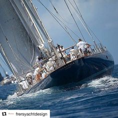 #Repost @frersyachtdesign  #Repost @yachtinglifestyle  Tag your yachting friends| S/Y REBECCA | 42.42m/139.17ft | By @pendennisyachts | Photo @jeffbrown.breedmedia |  #Yachtinglifestyle #teamYLS #GermanFrers #FrersDesign