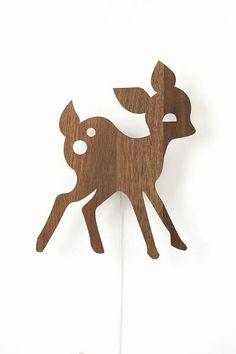 Ferm Living Wandlamp hert Oak