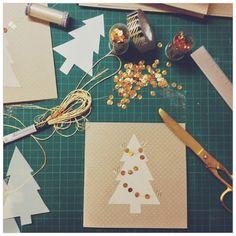 DIY Christmas cards - I just love handmade cards