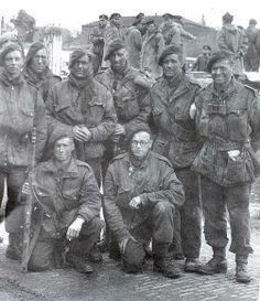 Men of 48 Commando at Walcheren.