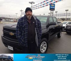 Dustin, Mark, Chris and Phillip were very friendly and worked very hard to get me the best deal possible. The entire staff was very helpful and I am very happy with my experience here at Crossroads Chevrolet. - Christopher Coty, Saturday, January 04, 2014 http://www.crossroadsjoplin.com/?utm_source=FlickR&utm_medium=DMaxxPhoto&utm_campaign=DeliveryMaxx