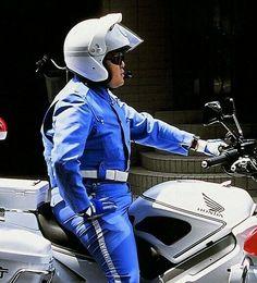 Hot Policemen in Uniform Cop Uniform, Men In Uniform, Police Cops, Police Officer, Fat Man, Overwatch, Leather Men, Riding Helmets, Hot Guys