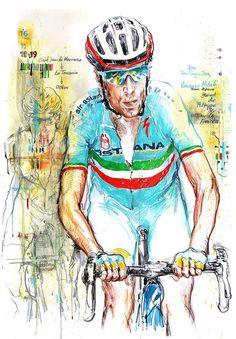 Vincenzo Nibali by Horst Brozy