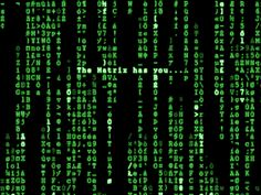 Inspired by The Matrix, this image displays scripts and codes for the world Neo was living in | Visual Culture |
