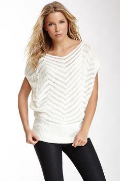 Open Knit Sleeveless Sweater on HauteLook
