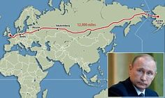 The vast Trans-Eurasian Belt Development would span half the globe's circumference, making it possible to get on the Channel Tunnel and drive all the way across Russia to Alaska.