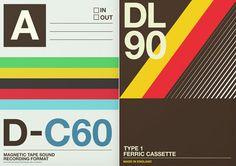 Cassette tape cover designs