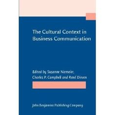 The Cultural Context in Business Communication. products-i-love