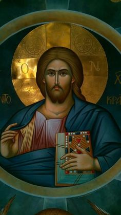 Pantocrator JESUS IS RULER OF THE WORLD AND THE UNIVERSE AND THE HEAVENS Jesus Christ Images, Jesus Art, Christian Images, Christian Art, Religious Icons, Religious Art, Orthodox Catholic, Christ Pantocrator, Jesus E Maria