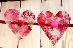 My Mommy Makes It: Easy Mom and Child Valentines Crafts-Tutorials