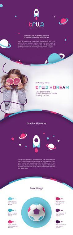 Yeraz Kids Center Branding on Behance
