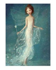 Winter Fairy by   Stephen Mackey
