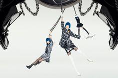 L'Officiel China - The Magic Show - Chanel Promotion Model Shu & Shi Wen