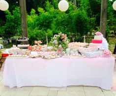 Dessert Table for a Sweet Sixteen Party