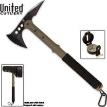 United Cutlery UC2836 M48 Ranger Hawk Axe with Compass