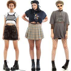 90s Fashion Grunge, 2000s Fashion, Grunge Outfits, Cool Outfits, Fashion Outfits, Womens Fashion, Fashion Ideas, Moda Grunge, Looks Cool
